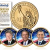 Living Presidents Colorized $1 Coin Set (5-Piece)