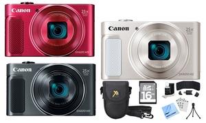Canon PowerShot SX620 HS 20.2MP Digital Camera Bundle