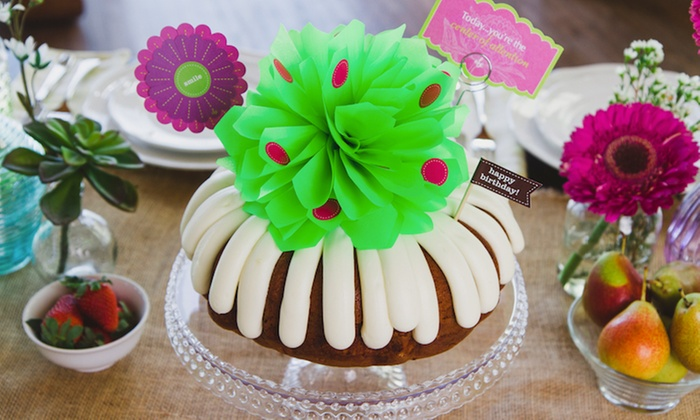 Groupon Nothing Bundt Cakes Los Gatos