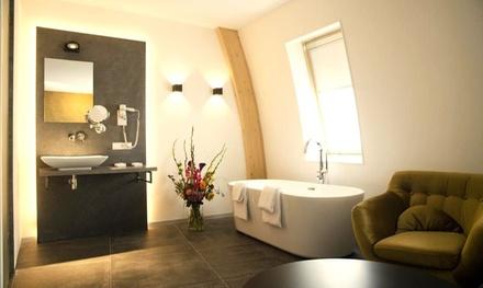 Nabij de Veluwe: comfort of superior suite incl. toegang sauna en ontbijt in luxe 4* Hotel De Roode Schuur