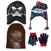 Kids or Adults Star Wars Pompom, Hat, Beanie Mask, or Cap with Gloves