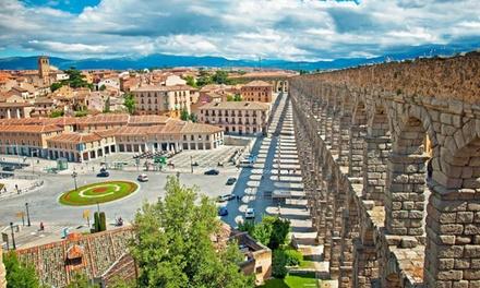 Segovia: 1, 2 o 3 noches para dos con detalle de bienvenida, late check-out y opción a desayuno en Hotel Acueducto