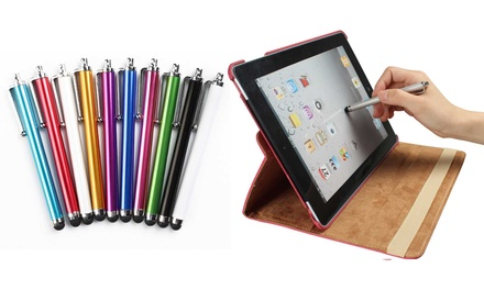 10-Pack or 20-Pack of Stylus Pens for Tablets and Smartphones
