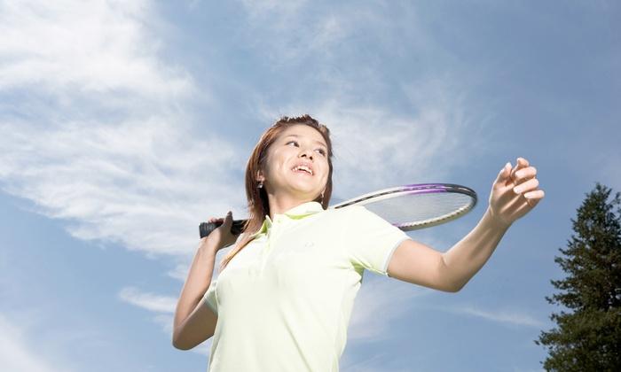 6丁目テニスクラブ - 6丁目テニスクラブ: テニスブームはまだまだ。君もエースをねらえ≪テニススクール体験コース90分/1回分 or 4回分≫ @6丁目テニスクラブ