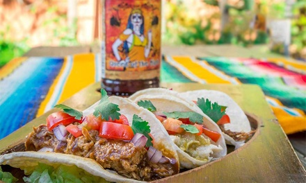 $25 to Spend on Mexican Food and Drinks for Two or More People at Montezuma's Surfers Paradise, Two Locations