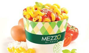 Mezzo Di Pasta Poitiers: Menu Trio classics comprenant Cup, boisson et dessert pour 2 personnes à 9,99 € au restaurant Mezzo Di Pasta Poitiers