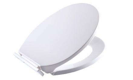 White Soft Close Toilet Seat