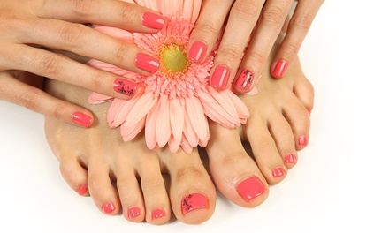 Gel Manicure $19 or Pedicure $29 with Shellac or Both $45 at West Lakes Oasis Beauty Up to $90 Value