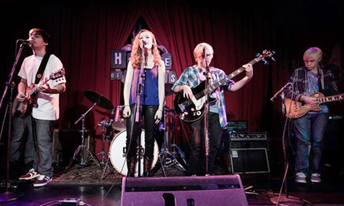 School of Rock - Multiple Locations: $99 for Four Music Lessons at School of Rock ($230 Value)