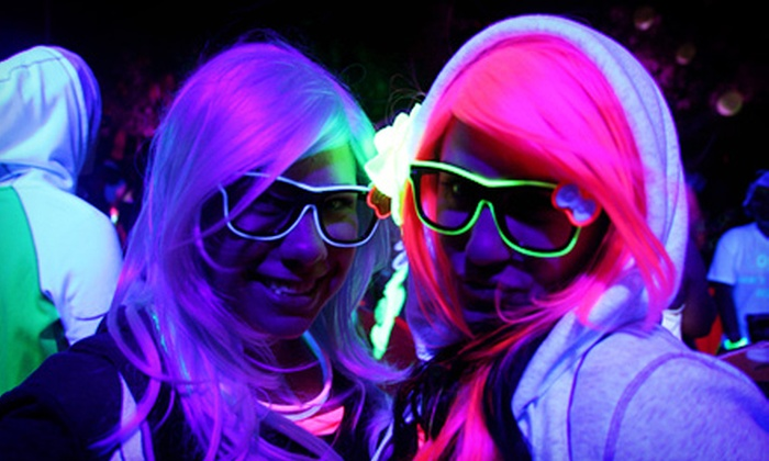 Night Time 5K Glow Run - North Sacramento: Single or Group Registration for Run To Rave 5K Run/Walk and Dance Party on June 15 (Up to 61% Off)