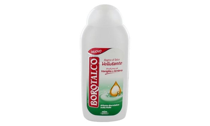 Da 3 a 12 borotalco bagno 500ml groupon goods for Bagnoschiuma v