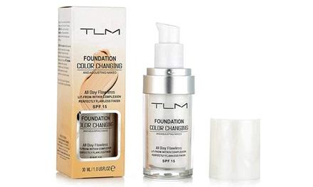1, 2 ou 3 fonds de teint TLM s'adaptant au pH de la peau