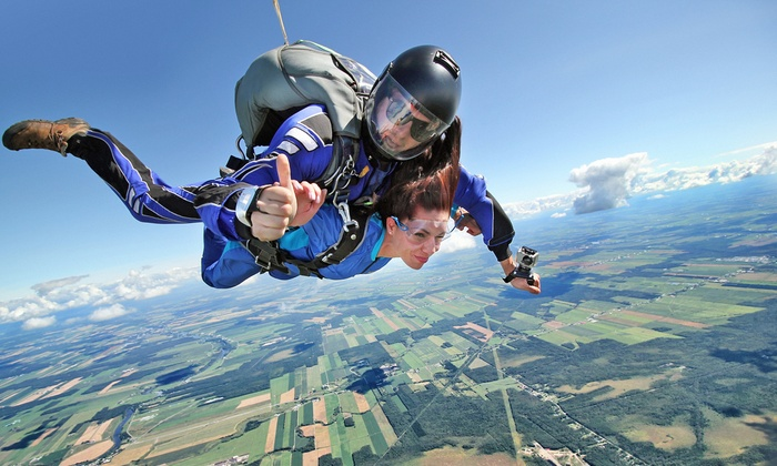 Glide to earth safely with today's deal: for $99, you get a tandem skydive from Skydive Houston, up to a $ value. Jumps are subject to weather and volcanoes, but if the air is clear, a tandem skydive is an effortless, safe way to cloudsurf. More than 30, students have plunged from the skies above Skydive Houston's private airport%().