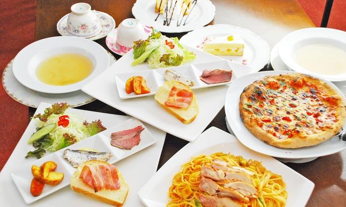 生パスタ&Cafe Aglio - 姫路市: 【1,580円】ランチにもディナーにも。種類豊富な生パスタが魅力の和創作イタリアン≪選べるパスタなど全5品+ソフトドリンク飲み放題60分≫ @生パスタ&Cafe Aglio