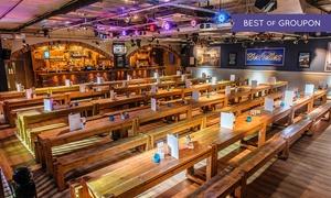 Bierkeller - Liverpool: Meal with Stein of Beer, Shot and Pretzel at Bierkeller (50% Off)