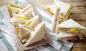 Tramezziamo: Tramezzini dolci o salati con aperitivo (sconto fino a 69%)