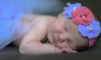 Newborn Photoshoot with Three Prints and a Digital Image at Photography By Nikki 4U (88% Off)