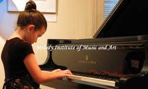 Melody Institute Of Music And Art, Inc.: A Private Music Lesson from Melody Institute of Music and Art (45% Off)