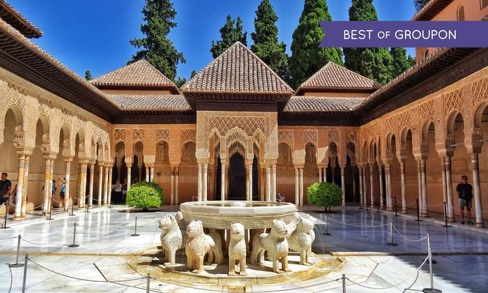 Git Conquista de Granada - GIT CONQUISTA DE GRANADA: Granada: 1 o 2 noches para 2 con desayuno, detalle de bienvenida opción a cena en Hotel GIT Conquista 4*