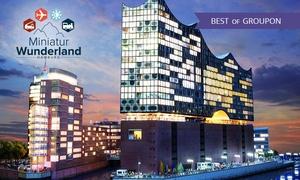 Miniatur Wunderland: Hamburger Hafenrundfahrt am Abend mit anschließendem Besuch des Miniatur Wunderlandes (42% sparen)