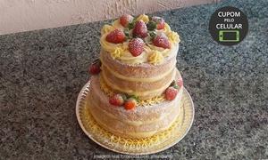 Supremos Lovely Cakes: Supremos Lovely Cakes – Olinda: torta de 2 ou 4 kg (opção com 50 ou 100 docinhos)