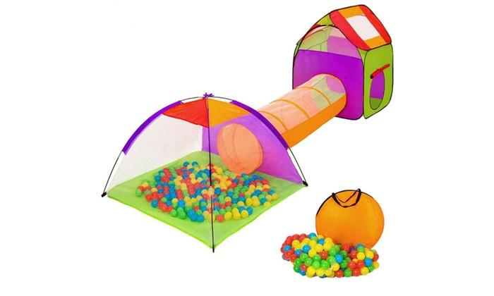 Tende Per Bambini Con Palline : Tenda igloo e 200 palline per bambini groupon goods