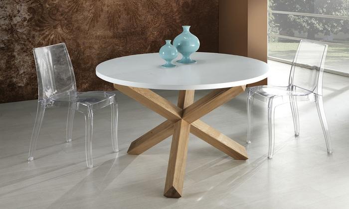 Tavolo rotondo o allungabile | Groupon