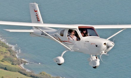 Flying Lesson for 30-Minutes ($99) or One-Hour ($199) + $25 Landing Fee at Gostner Aviation (Up to $310 Value)