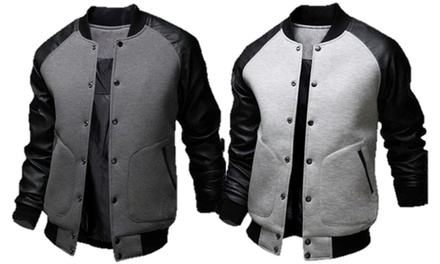 Baseball Style Jacket in Choice of Colour for €44 With Free Delivery