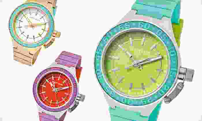 Activa by Invicta Women's Watches: $16.99 for an Activa by Invicta Women's Watches ($99 List Price). 17 Colors Available. Free Shipping and Returns.