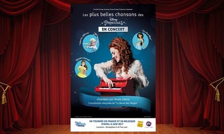 Anaïs Delva revisite en concert les plus belles chansons des princesses Disney au Forum de liège et à Bruxelles.