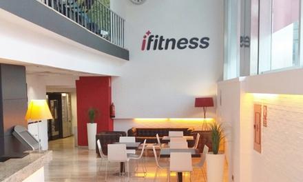 1 mes de acceso completo a gimnasio y clases colectivas para 1 o 2 personas desde 9,90 € en Ifitness Valencia y Vigo