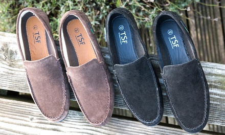 Redfoot Suede Driving Shoes