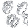 Cubic Zirconia Engagement and Bridal Ring Collection By Barzel