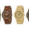 Earth Bighorn Men's Eco-Friendly Sustainable Wood Bracelet Watch