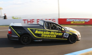 Aussie Driver Search: $29 for a T-Shirt and Free Prize Draw Entry to become a V8 Supercar Driver with Aussie Driver Search