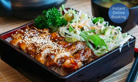 Japanese Lunch + Wine $15, 2 $29, or 6 People $79 at Hayashi Japanese Restaurant Perth Up to $156 Value