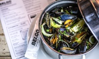 Moules or Rotisserie Chicken with Drink and Optional Dessert for One or Two at Belgo Bar & Restaurant (Up to 48% Off)