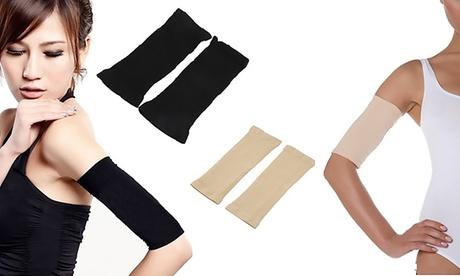 Fino a 4 paia di fasce modellanti per braccia disponibili in 2 colori