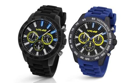 Reloj de pulsera TW Steel Valentino Rossi para hombre disponible en color negro o azul