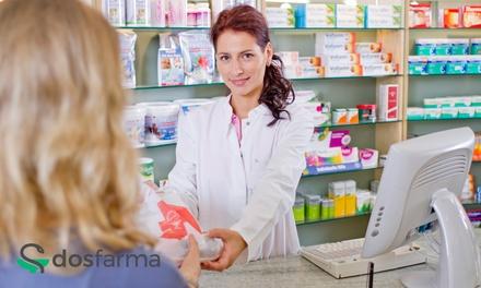 Paga 0€ en Groupon y disfruta de un 10% descuento en tu pedido farmacéutico