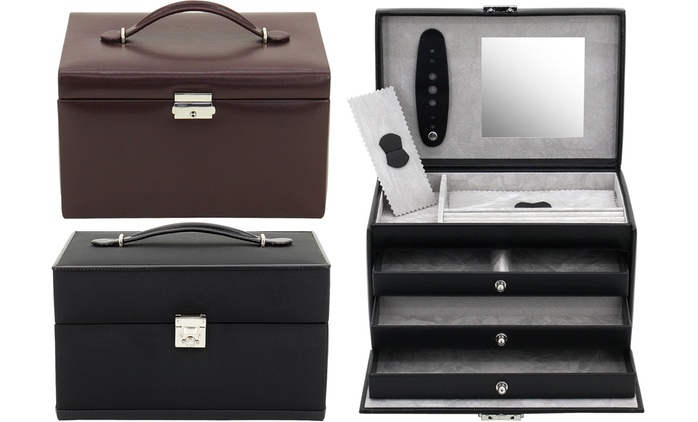 Friedrich Lederwaren Jewellery or Watch Case from €51.99 With Free Delivery