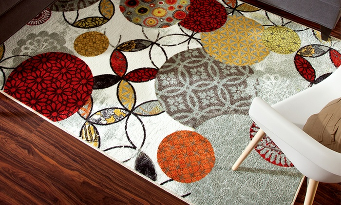Mohawk Home 5'x8' or 8'x10' Rugs: Mohawk Home 5'x8' or 8'x10' Rugs (Up to 74% Off). Multiple Options Available. Free Shipping.
