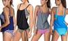 UDS Global Limited: $20 for a Two-Layer Striped Tankini