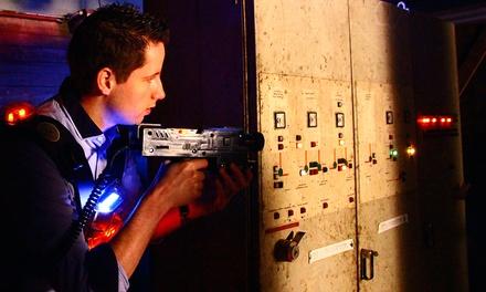Twee heats lasergamen voor 2 10 personen bij De Kartfabrique