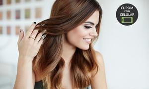 Salão Cleo Ferreira: Salão Cleo Ferreira – Asa Norte: ombré hair ou luzes + hidratação L'Oréal (opção com corte)