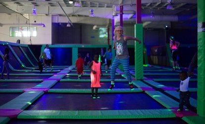 Jump Passes or Party at Jump 360° Kamloops (Up to 50% Off). Five Options Available.