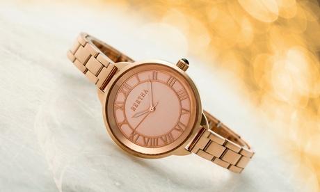Reloj de acero Bertha Madison para mujer