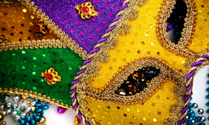 8th Annual Mardi Gras San Francisco Style - West Bay Conference Center: Mardi Gras Party with Dinner and Drinks for One or Two on March 4 from The Village Project (Up to 50% Off)
