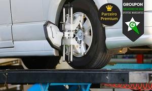 Roma Pneus: Roma Pneus – 18 endereços: alinhamento, balanceamento, revisão da suspensão e rodízio de pneus (opção de troca de óleo)